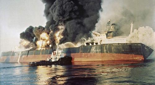 «Танкерная» война в Персидском заливе