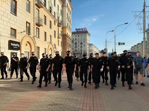 По Белоруссии прокатилась волна протестных выступлений