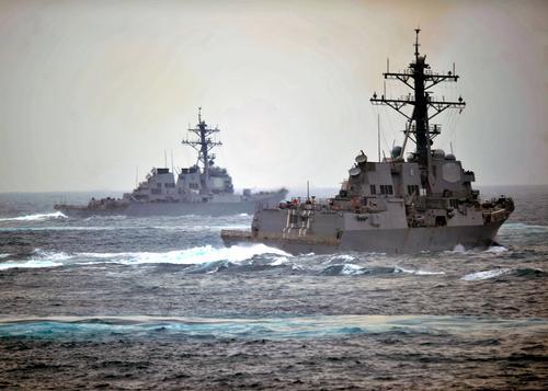 Эсминец Военно-морских сил США USS Porter зашёл в Чёрное море
