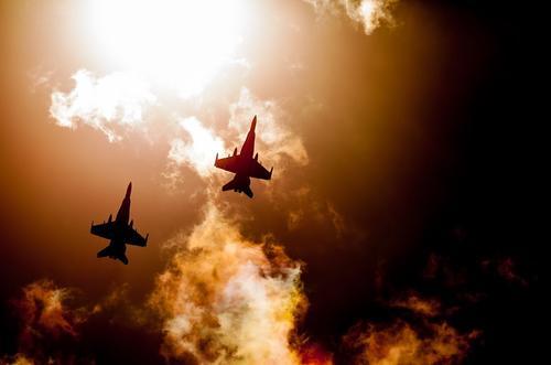 Российские истребители перехватили самолеты-разведчики США и Германии над двумя морями