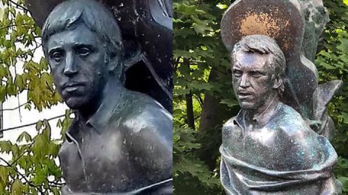 Скульптор рассказал о модернизации памятника на могиле Высоцкого