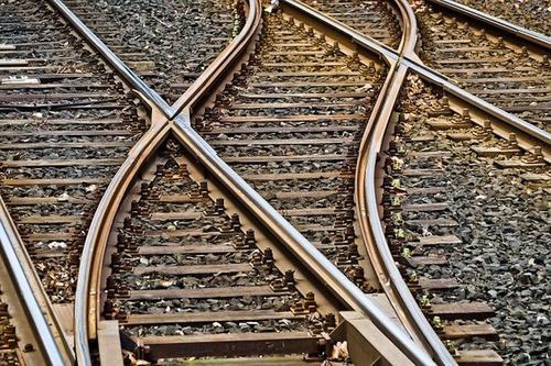Два грузовых поезда столкнулись в Санкт-Петербурге