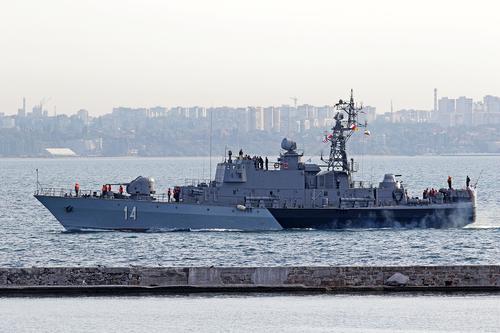 Пограничники РФ перехватили боевой корабль НАТО близ Крыма