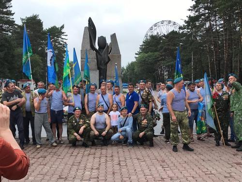 В Хабаровске отметили юбилей ВДВ