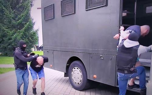 Задержанные под Минском россияне назвали конечную цель поездки
