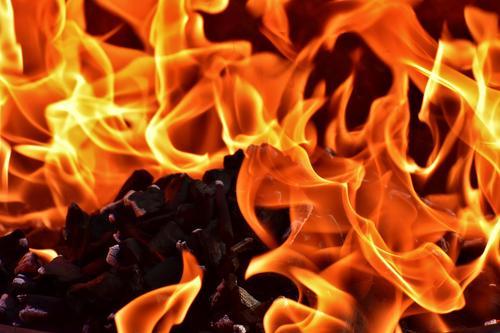 Пожар стал причиной крупного ДТП на юге Бразилии