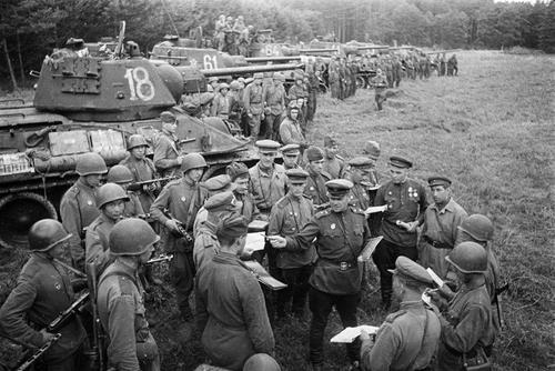Фронтовая сводка Совинформбюро за 4 августа 1944 года