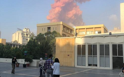 В посольстве России в Бейруте прокомментировали взрыв в порту