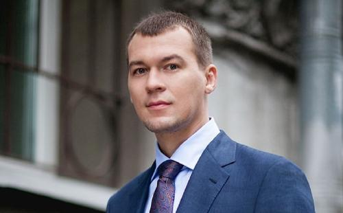 Дегтярев показал обстановку в новом кабинете
