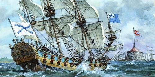 В этот день в 1699 году в Азовском море состоялся первый парад российского флота