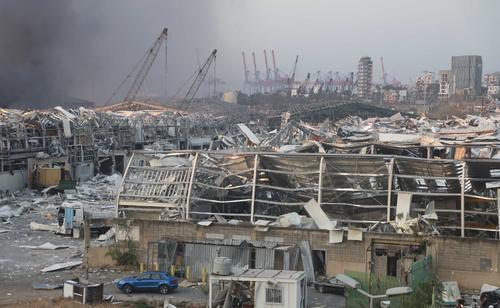 В Бейруте могла взорваться селитра бизнесмена из России