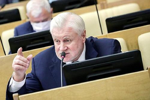 Миронов хочет предложить арестовать активы основателя Google на территории РФ