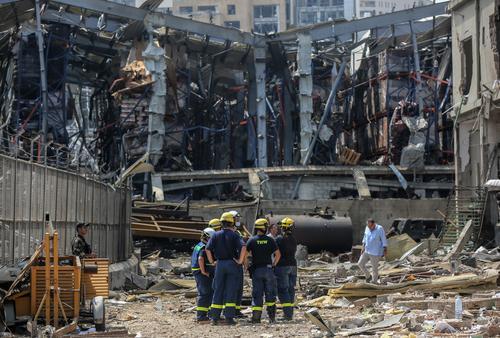 Более 60 человек числятся пропавшими после взрыва в Бейруте
