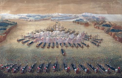 9 августа - день боевой славы, в честь победы в Гангутском сражении