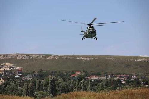 МО РФ завершило прокладку трубопровода между Тайганским и Симферопольским водохранилищами в Республике Крым