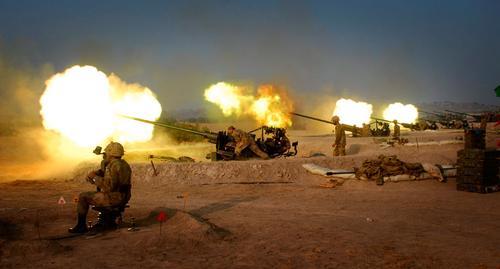 ВКС России активно используют в Сирии БПЛА для корректировки артиллерийского огня