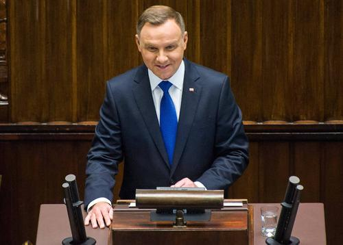 Дуда  пообещал украинцам вернуть Крым и Донбасс, а в Белоруссии поставить  во главе страны прозападно настроенного белоруса