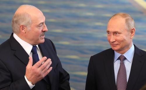 Путин поздравил Лукашенко с победой на президентских выборах в Белоруссии