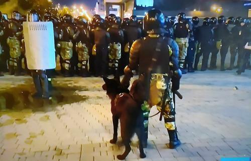 В Минске оценили ущерб от беспорядков в городе