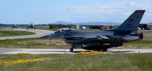 Америка перебросит истребители F-16 из Германии ближе к Черноморскому региону