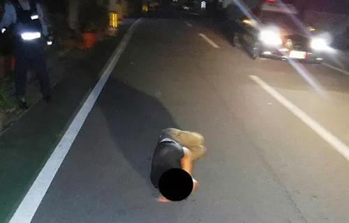 Дороги Окинавы захватили спящие пьяницы
