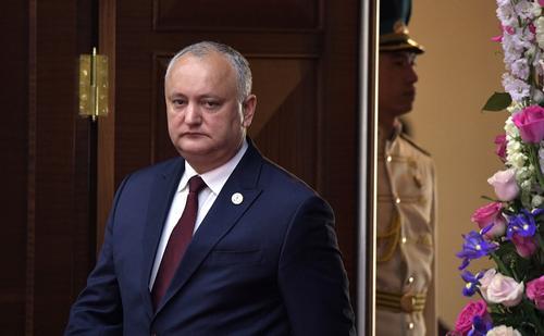 Глава Молдавии отдыхает в Подмосковье