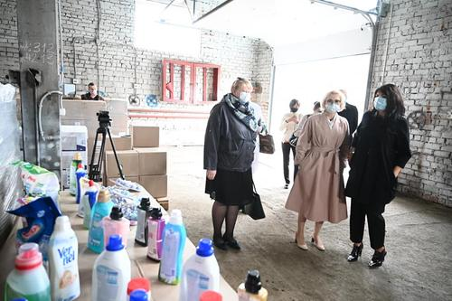 Соцучреждения Челябинской области получили первую партию гуманитарного груза