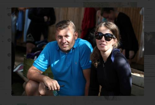 В сети есть фото Собчак с мужем Тихановской. Они встречались в Израиле