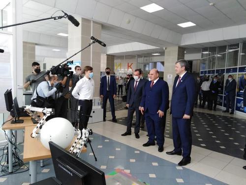 Премьер-министр РФ Михаил Мишустин прибыл в Краснодар