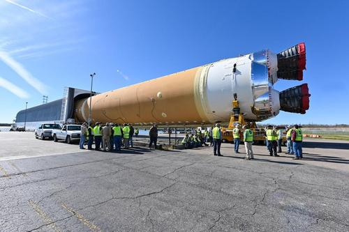 В США прошло успешное испытание нового космического ракетного двигателя