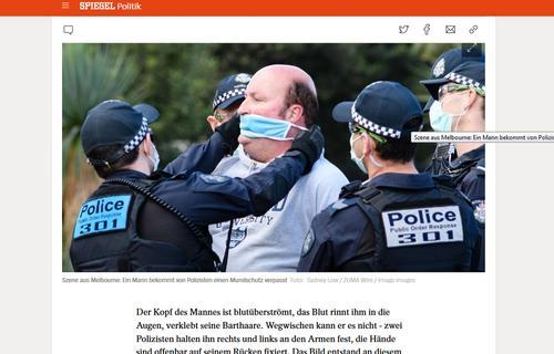 Жители Австралии вышли на странный митинг