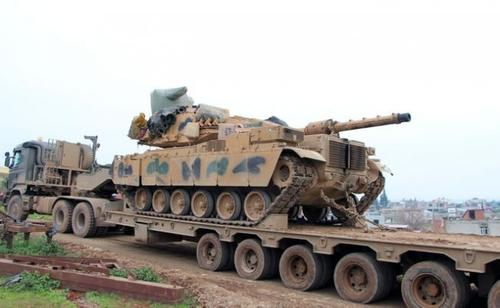 Анкара перебрасывает танки на границу с Грецией