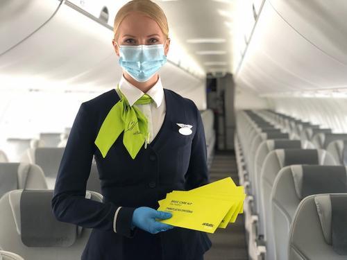 Аэропорт Рига: коронавирус повлиял на заполняемость самолетов