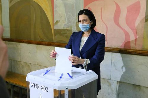 Наталья Котова рассказала, за кого проголосовала на выборах