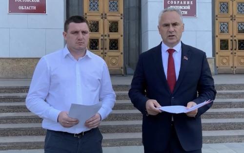 Кандидаты в губернаторы Ростовской области Бессонов и Пятибратов потребовали отмены итогов досрочного голосования