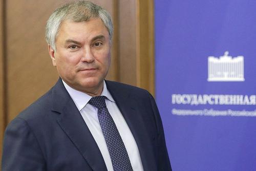 Володин заявил, что трехдневное голосование обеспечило безопасность граждан