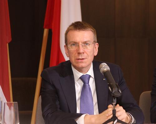 Глава МИД Латвии Эдгарс Ринкевичс: Крым – не Россия
