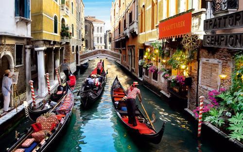 Учёные создадут виртуальную копию Венеции