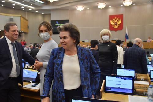 Спикер Госдумы Володин перевел Терешкову и Челингарова на удалённую работу
