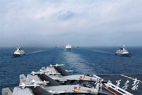 НОАК начала военные учения вблизи Тайваньского пролива