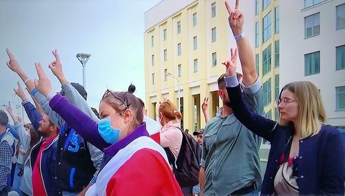 Оппозиция Белоруссии начала публиковать личные данные силовиков