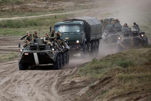 Мотострелки ЮВО совместно с вооруженными силами Южной Осетии были подняты по тревоге в рамках СКШУ «Кавказ-2020»