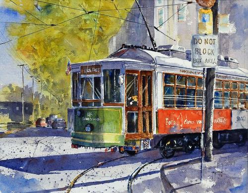 В столице запустят беспилотный трамвай