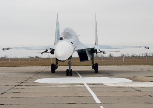 Истребитель Су-30 упал под Тверью