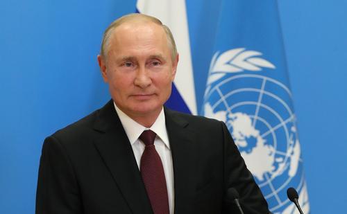 Путин призвал использовать «авторитет ООН» для укрепления «гуманитарной, человеческой составляющей» в отношениях между странами