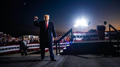 Телеканал RT предложил работу президенту США Дональду Трампу
