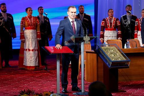 Вениамин Кондратьев официально вступил в должность губернатора Кубани