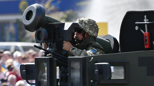 Американская противотанковая система Javelin дала сбой на украинских маневрах