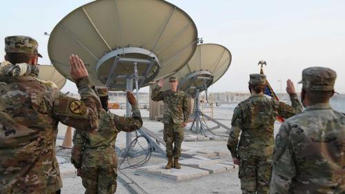 На базу в Катаре прибыли первые 20 офицеров нового рода войск США