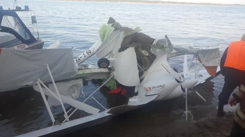 Очевидцы рассказали подробности крушения самолета над Волгой
